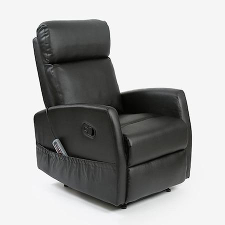 Fotoliu cu masaj si incalzire Cecotec Compact 6021